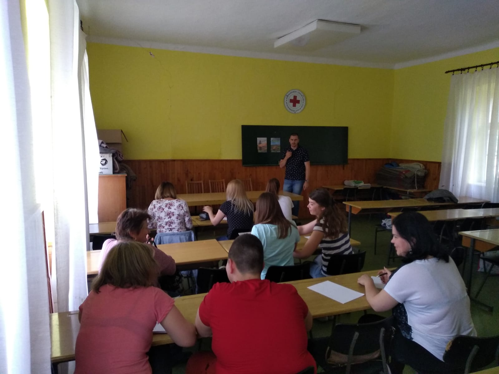 Youth Workers Alliance Vranje/ Youth Association Bell – Capacity Building Activity 8