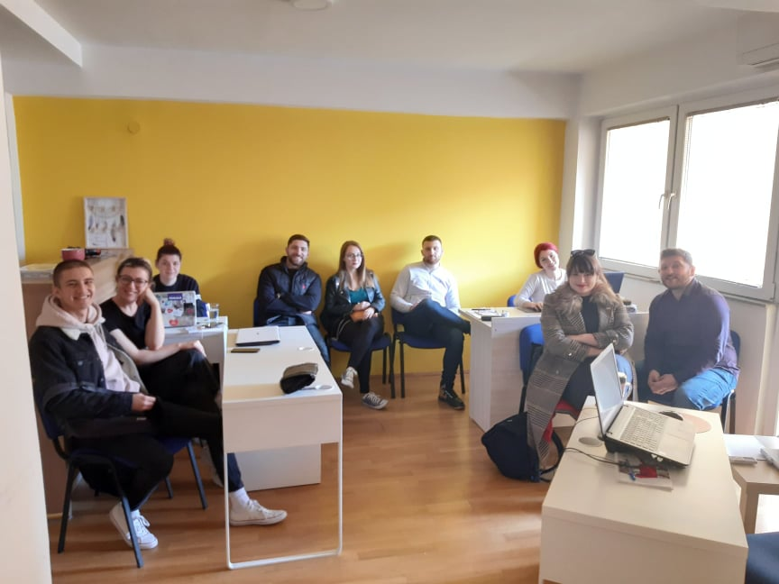 Youth Council Next Generation – Dissemination Activity 2 – Body Language In Presenting