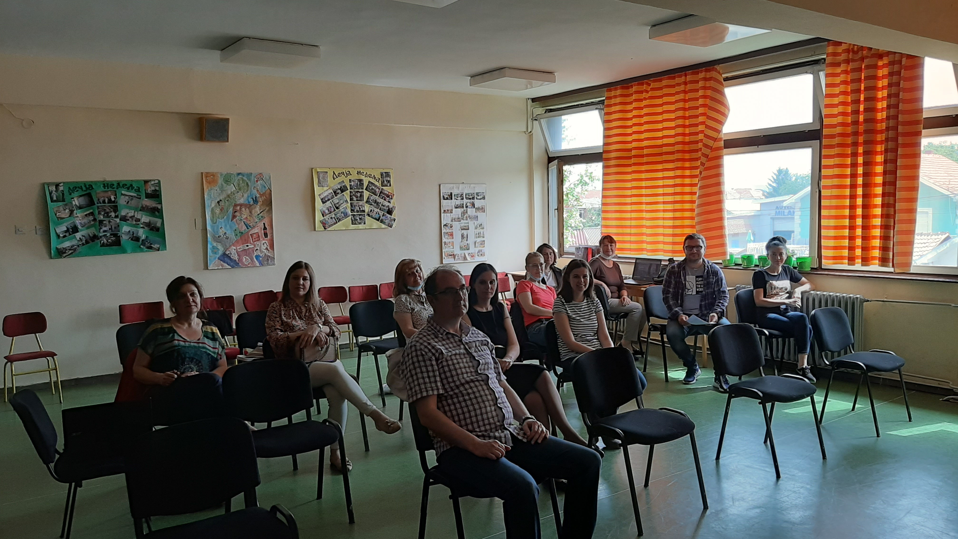 Youth Workers Alliance Vranje/ Youth Association Logos – Capacity Building Activity 10